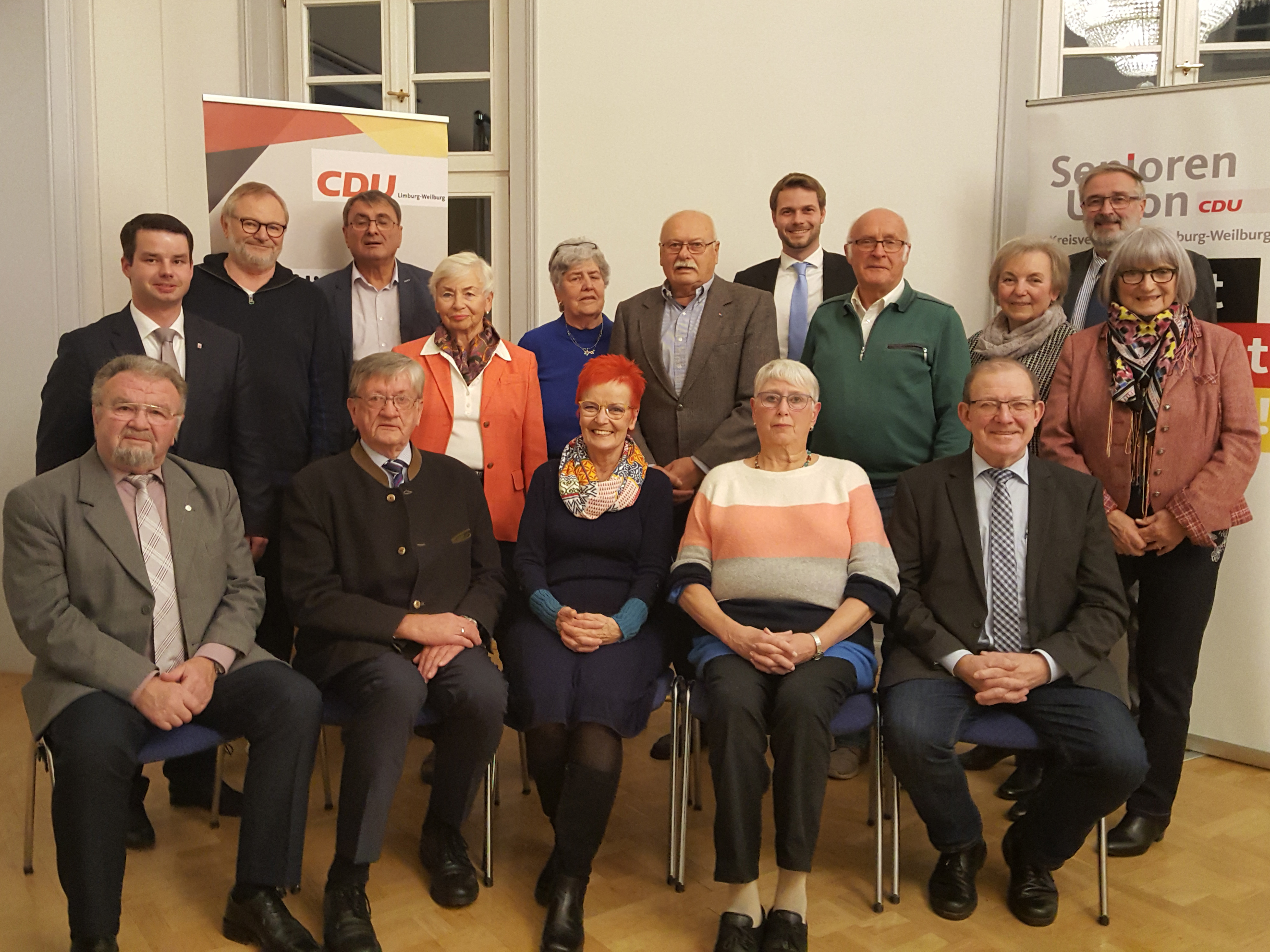 Senioren Union Kreisvorstand 2019 - 2021